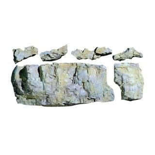 Moule flexible 6 blocs rocheux -HO et N-WOODLAND SCENICS C1243