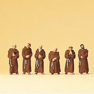 6 moines franciscains N-1/160-PREISER 79045