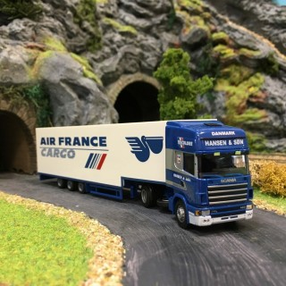 Semi-remorque frigo Scania 4R Air France-HO-1/87-AWM 71259