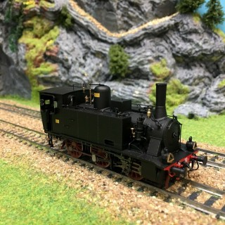 Locomotive 851.110 Breda TYPE 030 FS épIII-HO-1/87-LEMODELS 21270