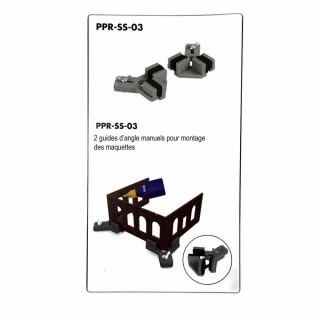 2 angles manuels pour montage des maquettes-Z/N/TT/HO/OO-PROSES PR-SS-03