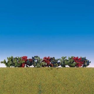 12 buissons fleuris-Toutes échelles-1/87-FALLER 181474