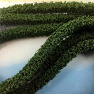 3 haies flexibles vertes foncées pour diorama -HO et N- HEKI 1185