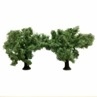 2 oliviers de 11cm de haut -HO et O- HEKI 1771