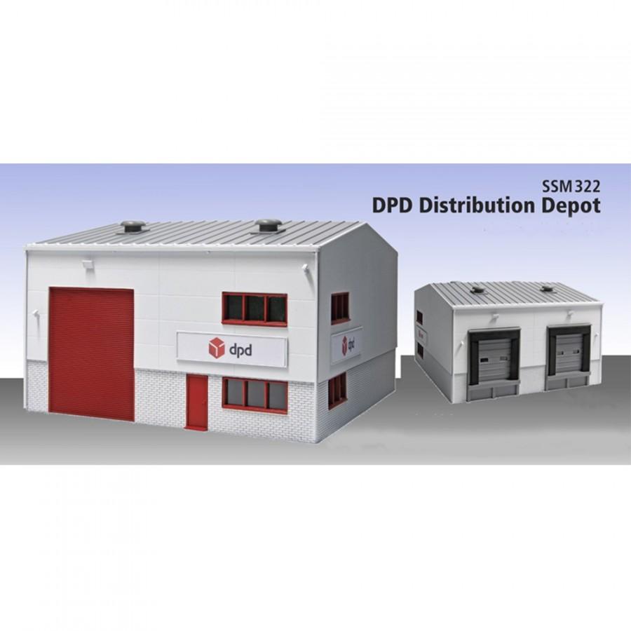 Entrepôt de distribution de colis DPD-HO-1/87-PECO SSM322
