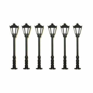 6 lampadaires de rue ou autre-HO-1/87-VIESSMANN 60706