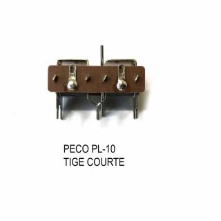 Moteur d'aiguillage sous table tige courte -N et HO-PECO PL-10