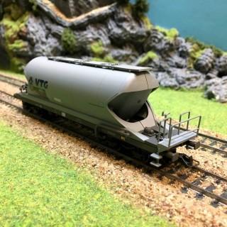 Wagon silo Aacs VTG époque V-HO-1/87-HERIS 11515-4