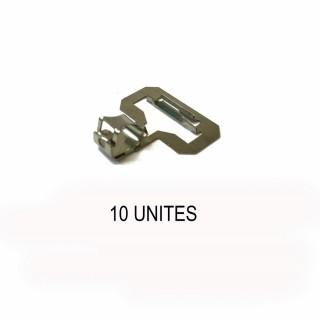 10 clips alimentation par éclisse rail profi-HO-1/87 -FLEISCHMANN 6431