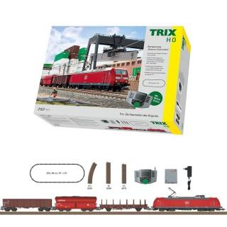 """Coffret de démarrage """" Trafic marchandise moderne""""-HO-1/87-Trix 21527"""
