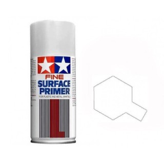 Apprêt blanc Spray de 180ml-TAMIYA 87044