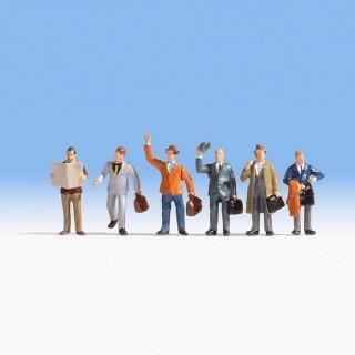 6 voyageurs d'affaires -N-1/160-NOCH 36226