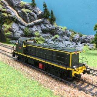 Locomotive BB63119 Nancy Sncf époque IV -HO-1/87-R37 41024