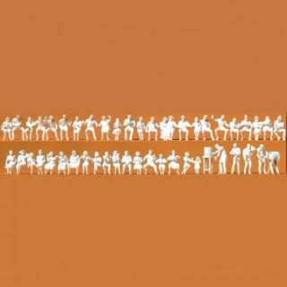 47 figurines pour brasserie ou autre à peindre-HO-1/87-PREISER 16356