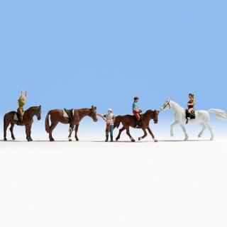 Cavaliers et chevaux -N-1/160-NOCH 36630