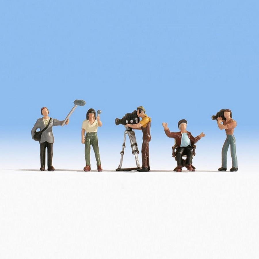 Equipe de tournage de film -HO-1/87-NOCH 15573