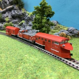 Locomotive type Dd16-304 chasse neige -N-1/160-Kato 10-1127