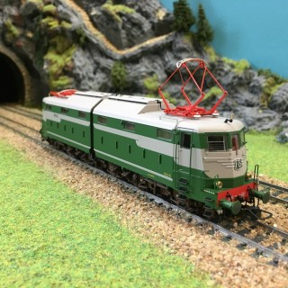 Locomotive E.646.002 FS époque IIIb à IVa-HO-1/87-LEMODELS 20651