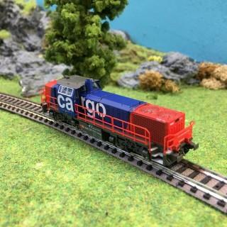 Locomotive Am843 SBB Cargo ép V -N-1/160-HOBBYTRAIN H2943
