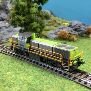 Locomotive Am 843 BLS ép V -N-1/160-HOBBYTRAIN H2944