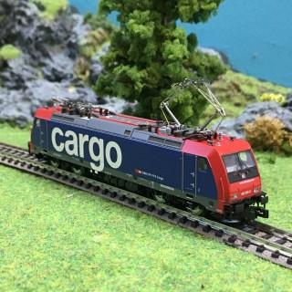 Locomotive série 482 SBB Cargo ép VI digitale son -N-1/160-FLEISCHMANN 738874