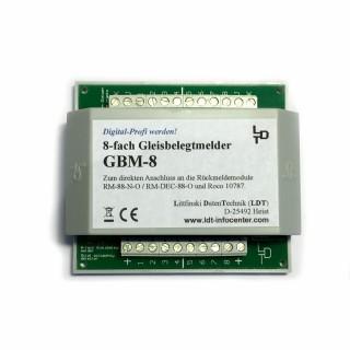 Module de rétrosignalisation à 8 sorties  -GMB 8 G -LDT 020003