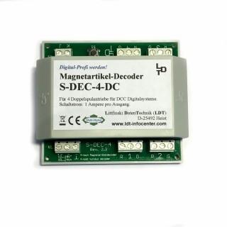 Décodeur pour 4 aiguillages -S DEC 4 DC -LDT 910213
