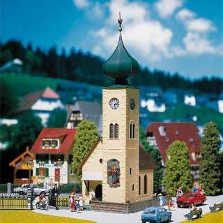 Eglise avec toit interchangeable inclus-HO-1/87-FALLER 130238