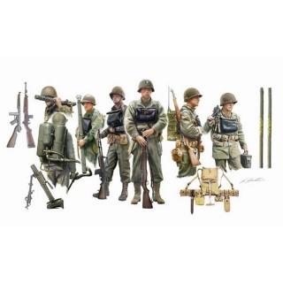Infanterie US Embarquée 2ème GM -1/72-ITALERI 6522