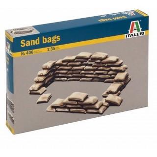 Sacs de sable -1/35-ITALERI 406