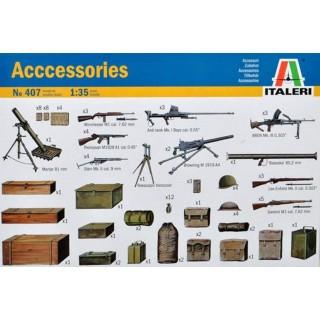 Equipements & Armement Alliés -1/35-ITALERI 407
