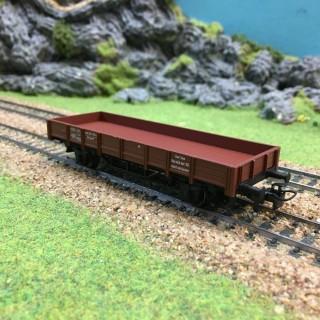 Wagon bas rebords bas époque IV -HO-1/87-MARKLIN 4423