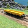 Wagon bas rebords bas  époque IV et V -HO-1/87-MARKLIN 4471