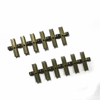 12 éclisses isolantes pour rail Profi-HO-1/87 -FLEISCHMANN 6433