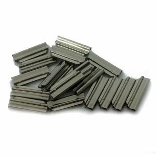 20 éclisses métallique pour rail Profi -HO-1/87-FLEISCHMANN 6434
