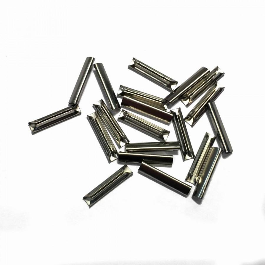 20 éclisses métallique pour rail flexible -HO-1/87 -FLEISCHMANN 6436