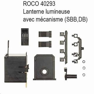 Lanterne de direction avec mécanisme -HO-1/87-ROCO 40293