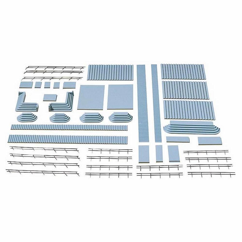 NEUF fer garde-corps 3,18 €//m kit 182 cm LG. FALLER 180403 h0 12 pièces