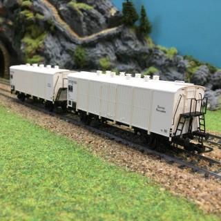 2 wagons Interfrigo Icefs Sncf epIIIb -HO-1/87-LSMODELS 30510