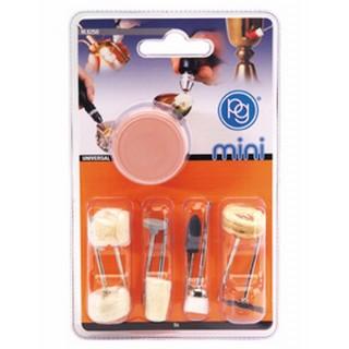 Set 9 accessoires pour nettoyage et polissage - PGMINI M8250
