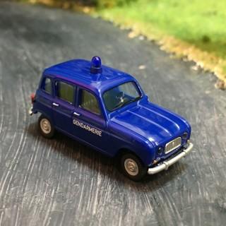 Renault R4 Gendarmerie -HO-1/87-Wiking 022404
