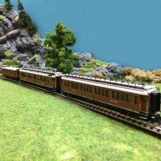 3 voitures CIWL Teck Wien - Ostende Express ép I -N-1/160-HOBBYTRAIN H22100