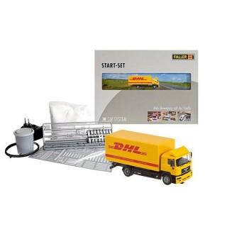 Car système coffret démarrage camion DHL -HO-1/87-FALLER 161607