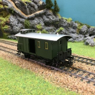 Fourgon à bagages-HO-1/87-MARKLIN 4038