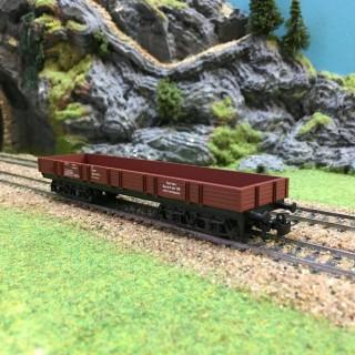 Wagon à bords bas-HO-1/87-MARKLIN 4473