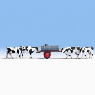 Vaches à l'abreuvoir -HO-1/87-NOCH 16658