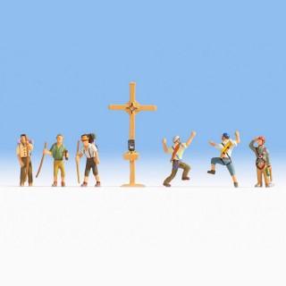 Randonneurs + croix -N-1/160-NOCH 36874