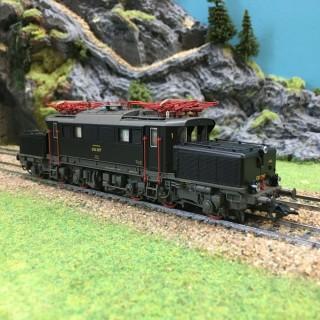 Locomotive BR E 93 DB ép III Mfx digitale sonore-HO-1/87-TRIX 22871