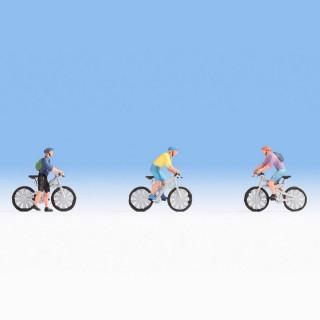 3 cyclistes VTT -HO-1/87-NOCH 15899