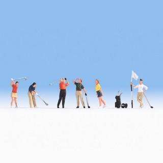 6 golfeurs -HO-1/87-NOCH 15885